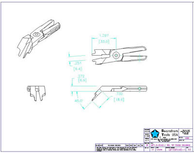 Detailed drawing of GPT-05-RV45-1