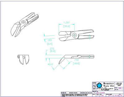 Detailed drawing of GPT-05-RV45