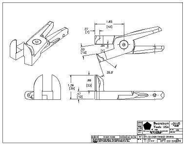 Detailed drawing of GPT-20-DA90
