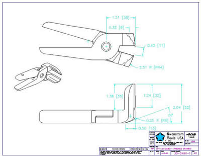 Detailed drawing of GPT-30-DA90-1