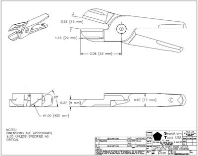 Detailed drawing of GPT-30-SI